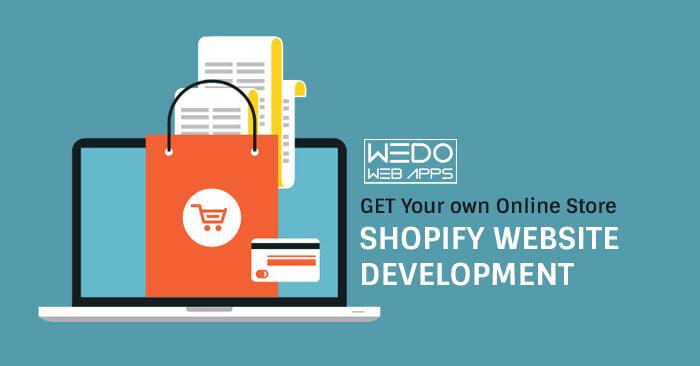 WeDoWebApps care your Shopify Website Development