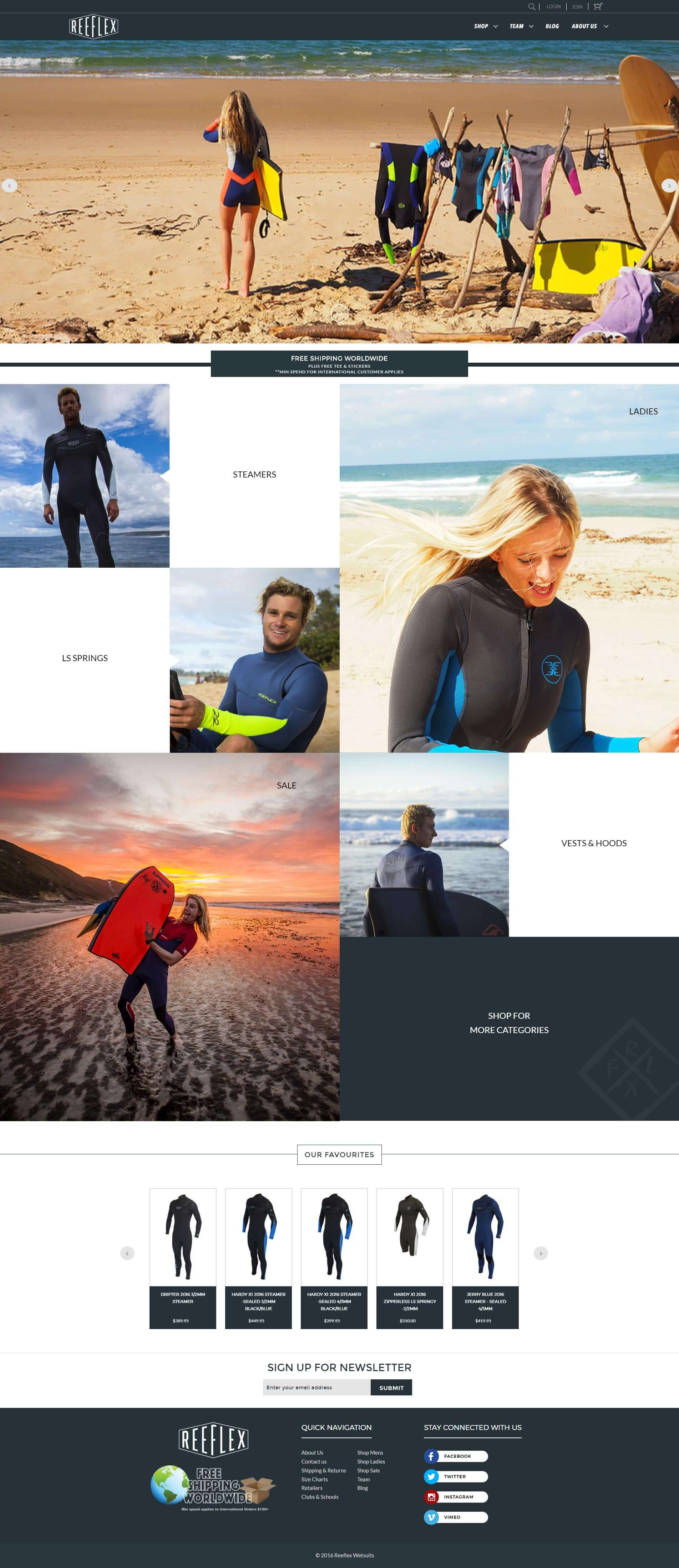 Reeflex Wet Suits