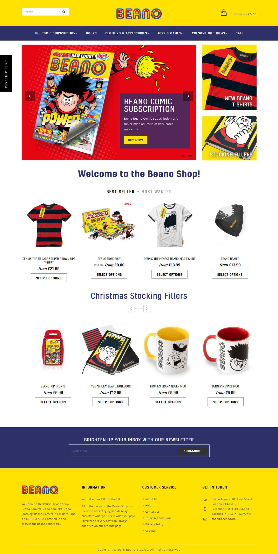 Beano Shop