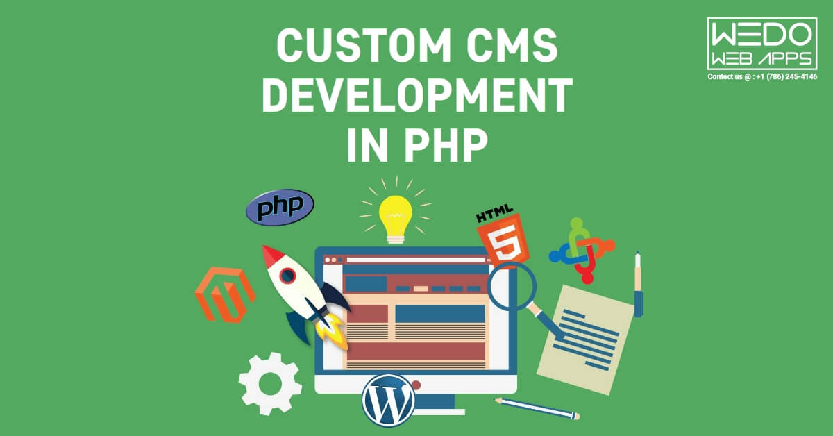 custom cms development in php