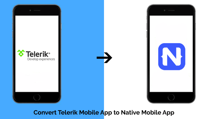 Convert Telerik Mobile App to Native Mobile App