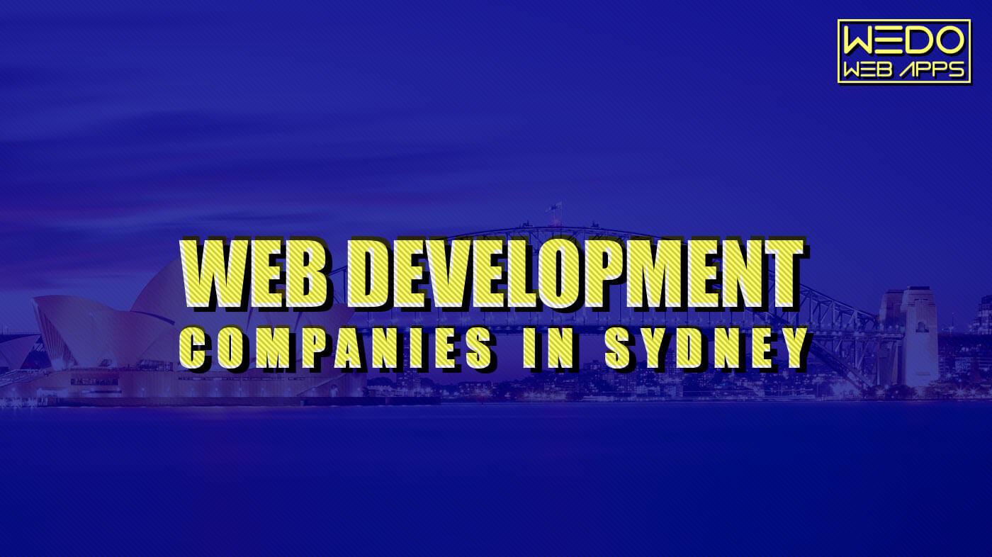 web development companies in sydney