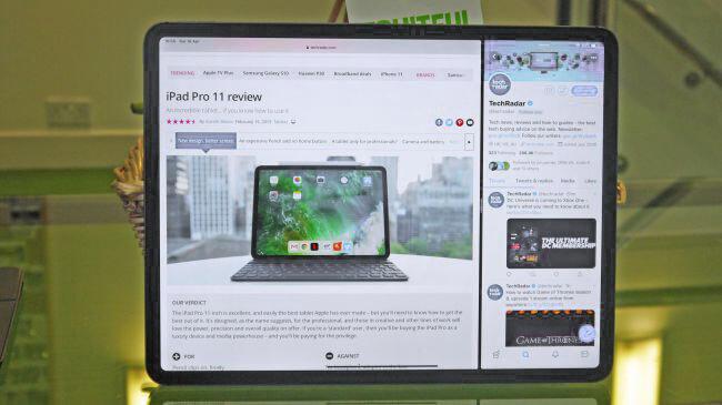 Desktop class browsing in safari