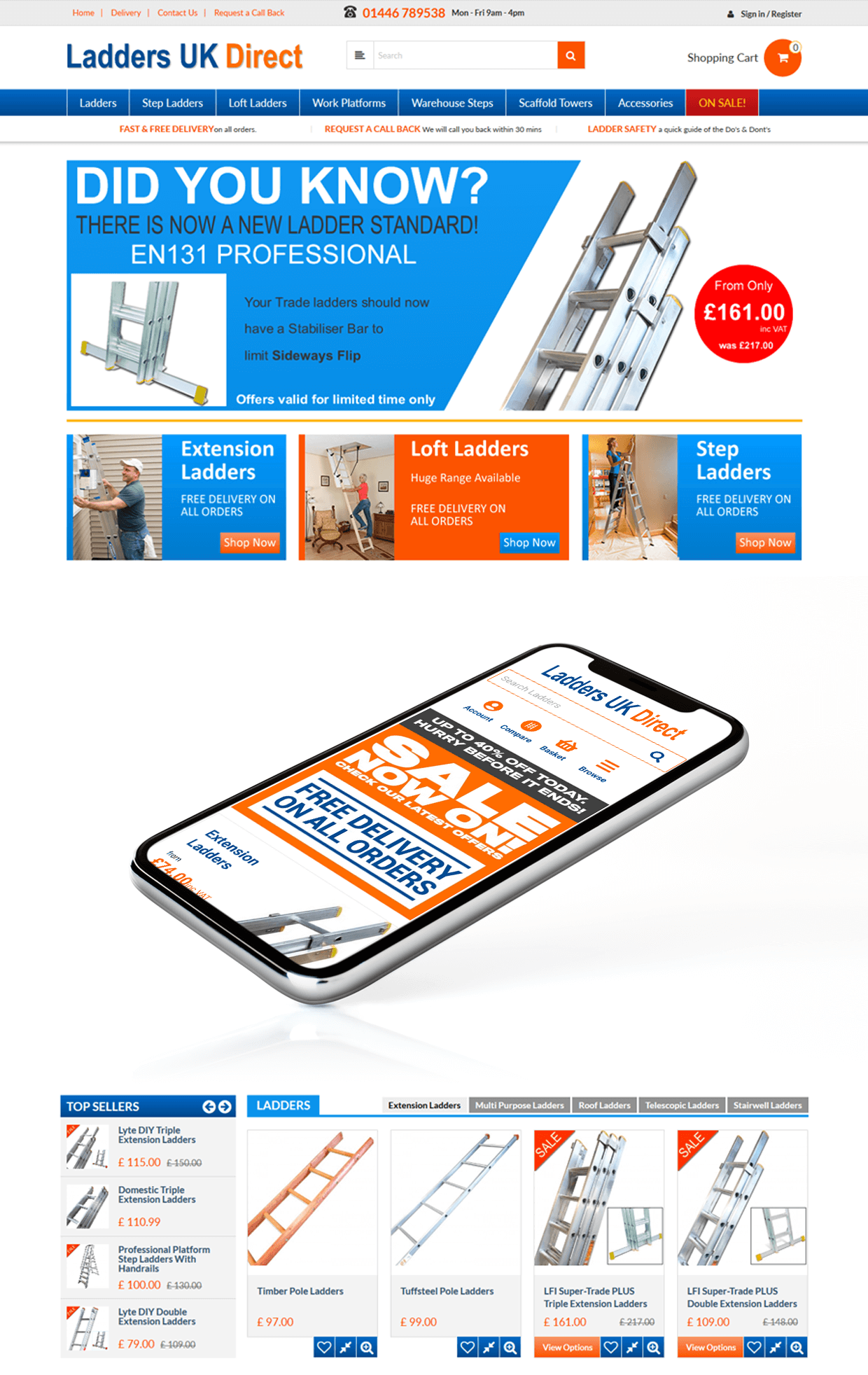 Ladders Uk Direct