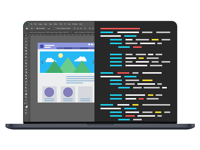 PSD to HTML Development Company