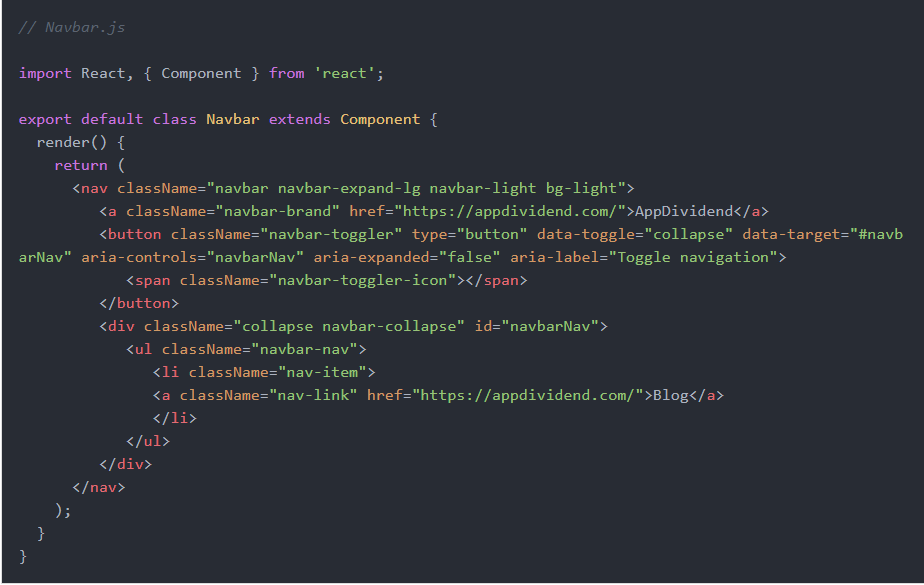 Create some bootstrap react components