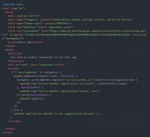 ReactJs App Development