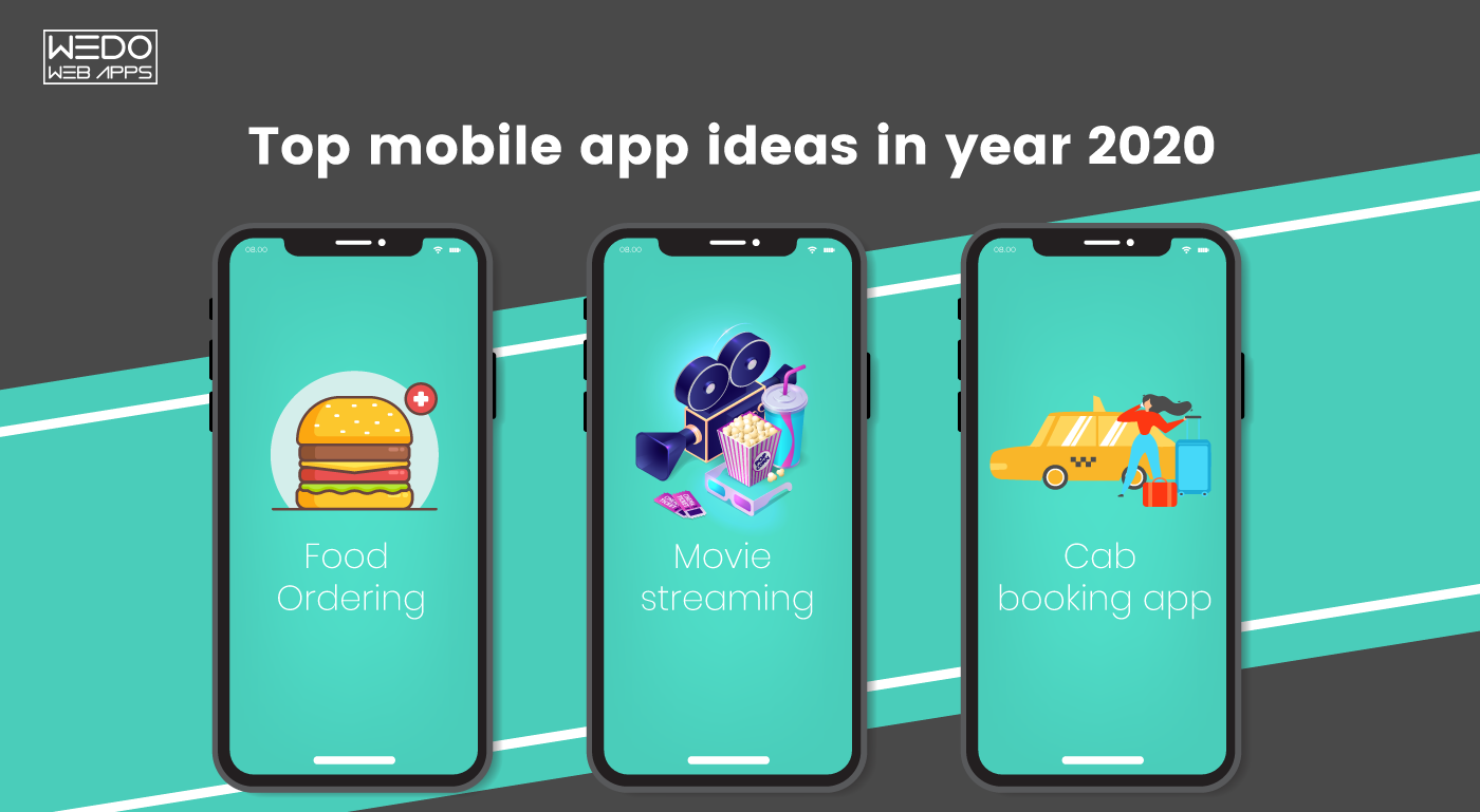 Top mobile app ideas that startups should consider in the year 2020!
