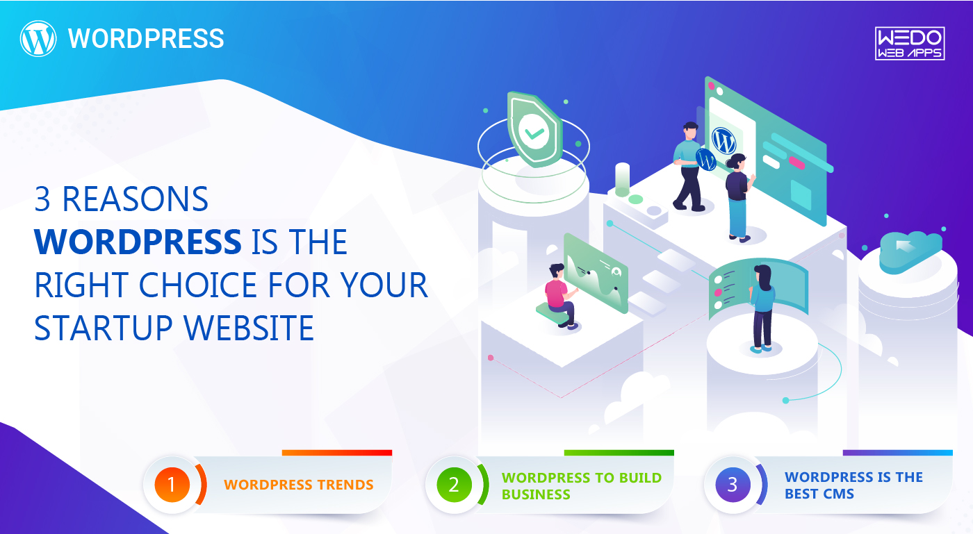3 Reasons WordPress is the Right Choice for Your Startup Website