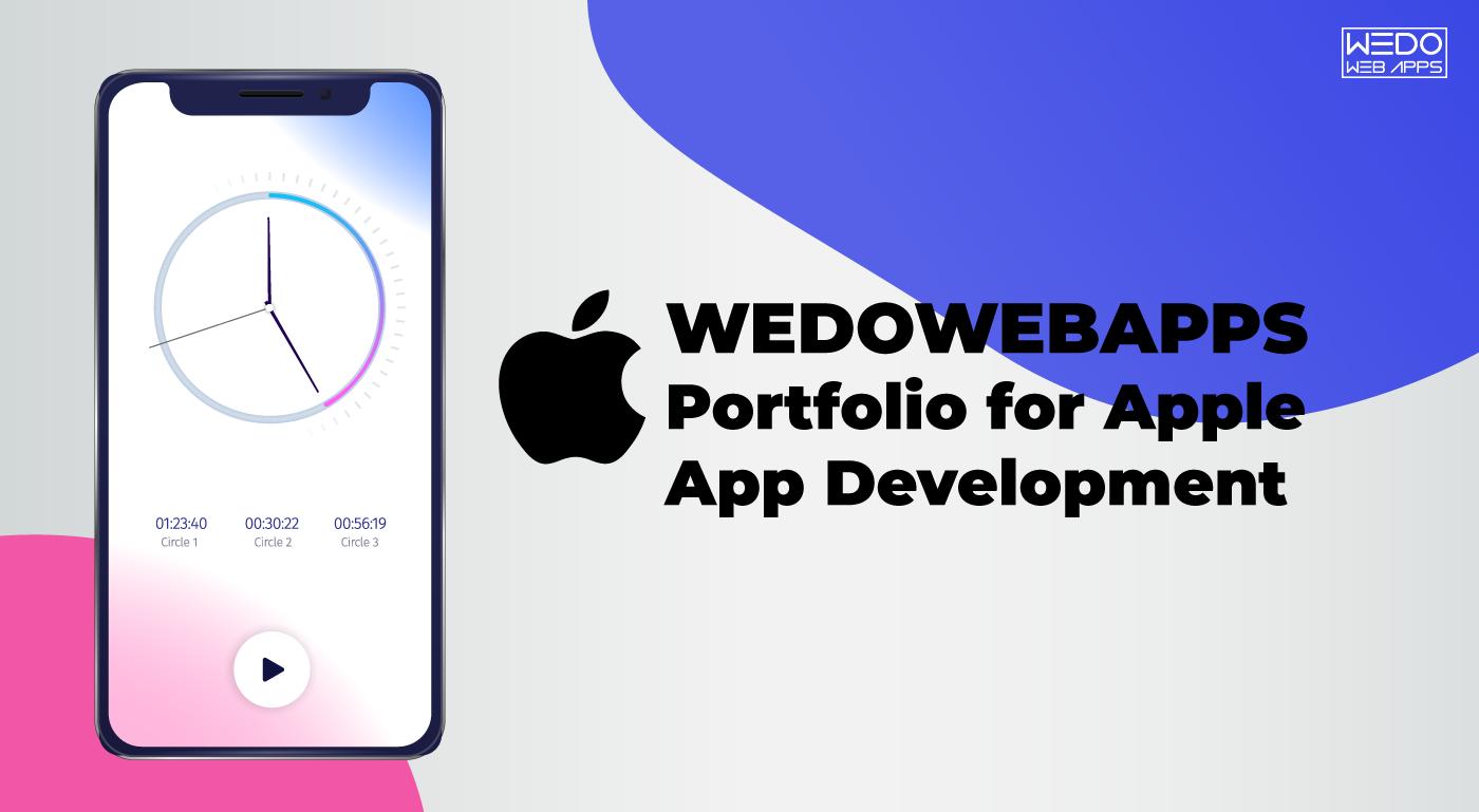 Apple App Development Services from WeDoWebApps