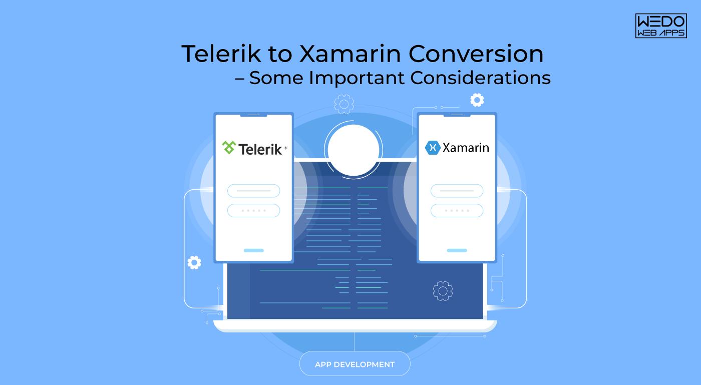 Convert Telerik Mobile App to Xamarin Mobile App