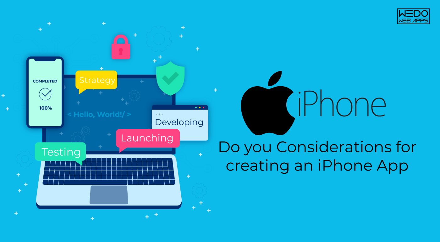 Create App for iPhone