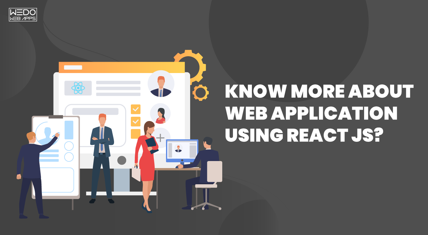 How to create a web application using react js?