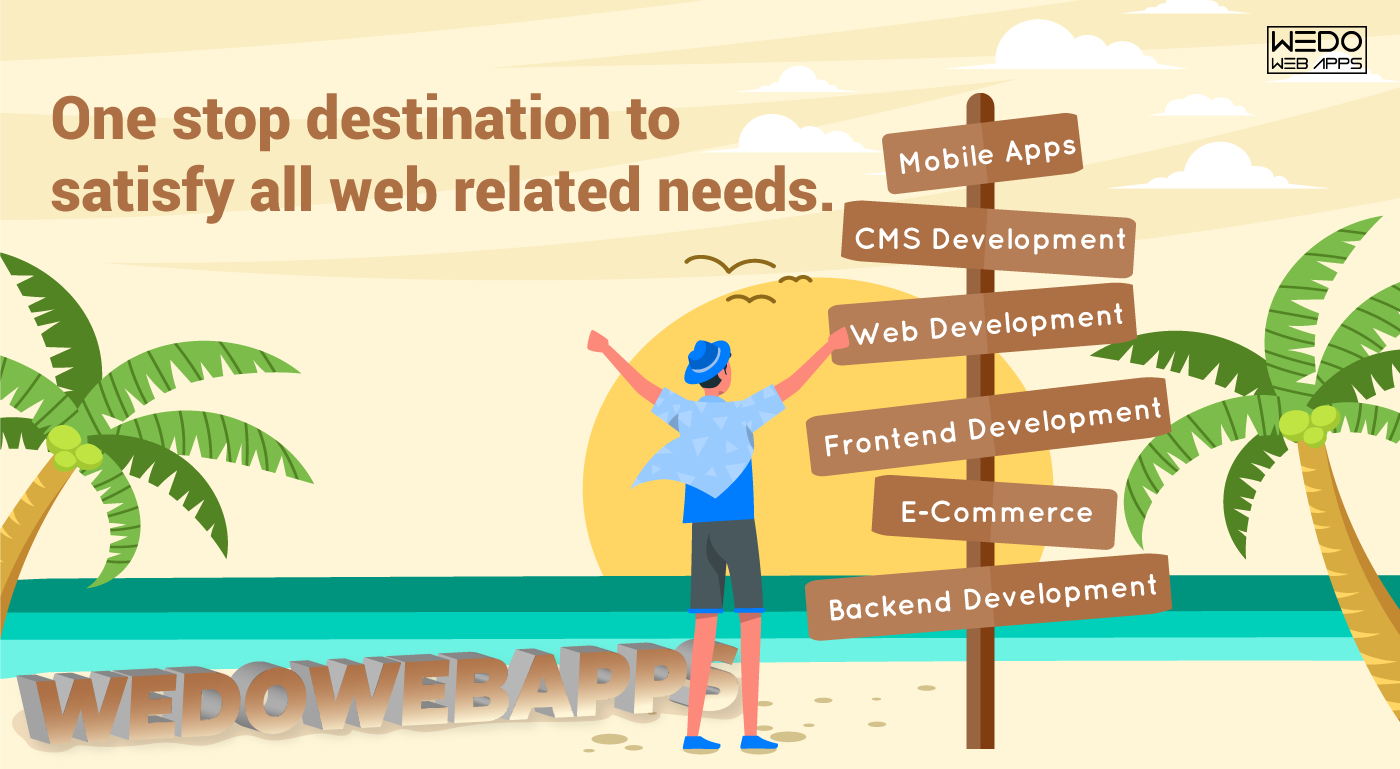 One stop destination to satisfy all web related needs.