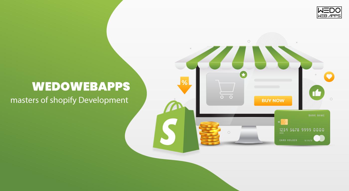 Shopify Website Development at WeDoWebApps LLC