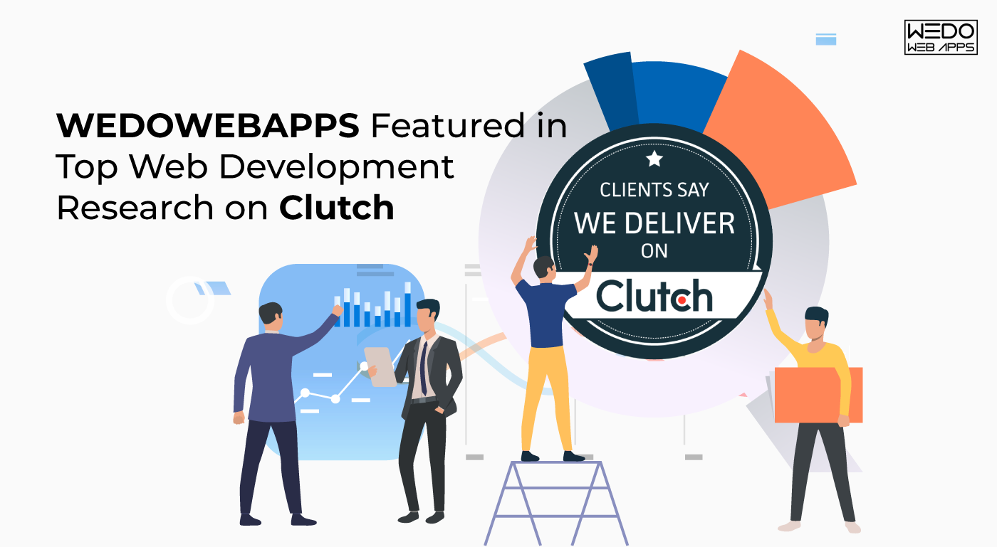 WEDOWEBAPPS Featured in Top Web Development Research on Clutch