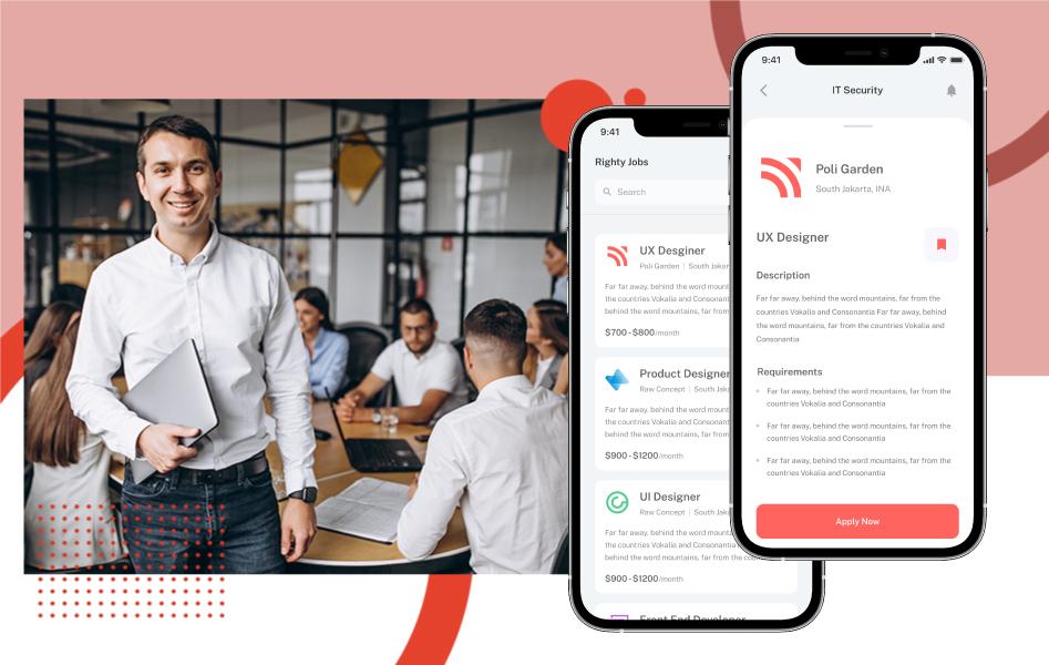 A career guidance app