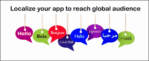 app for localization