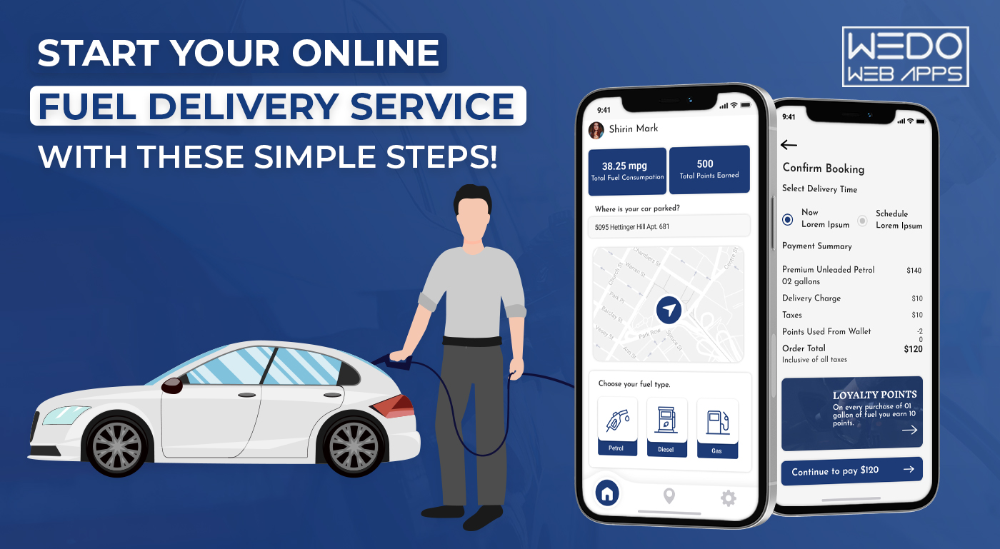 START YOUR ONLINE FUEL DELIVERY SERVICE WITH THESE SIMPLE STEPS!