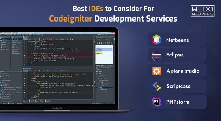 Best IDEs to Consider For Codeigniter Development Services