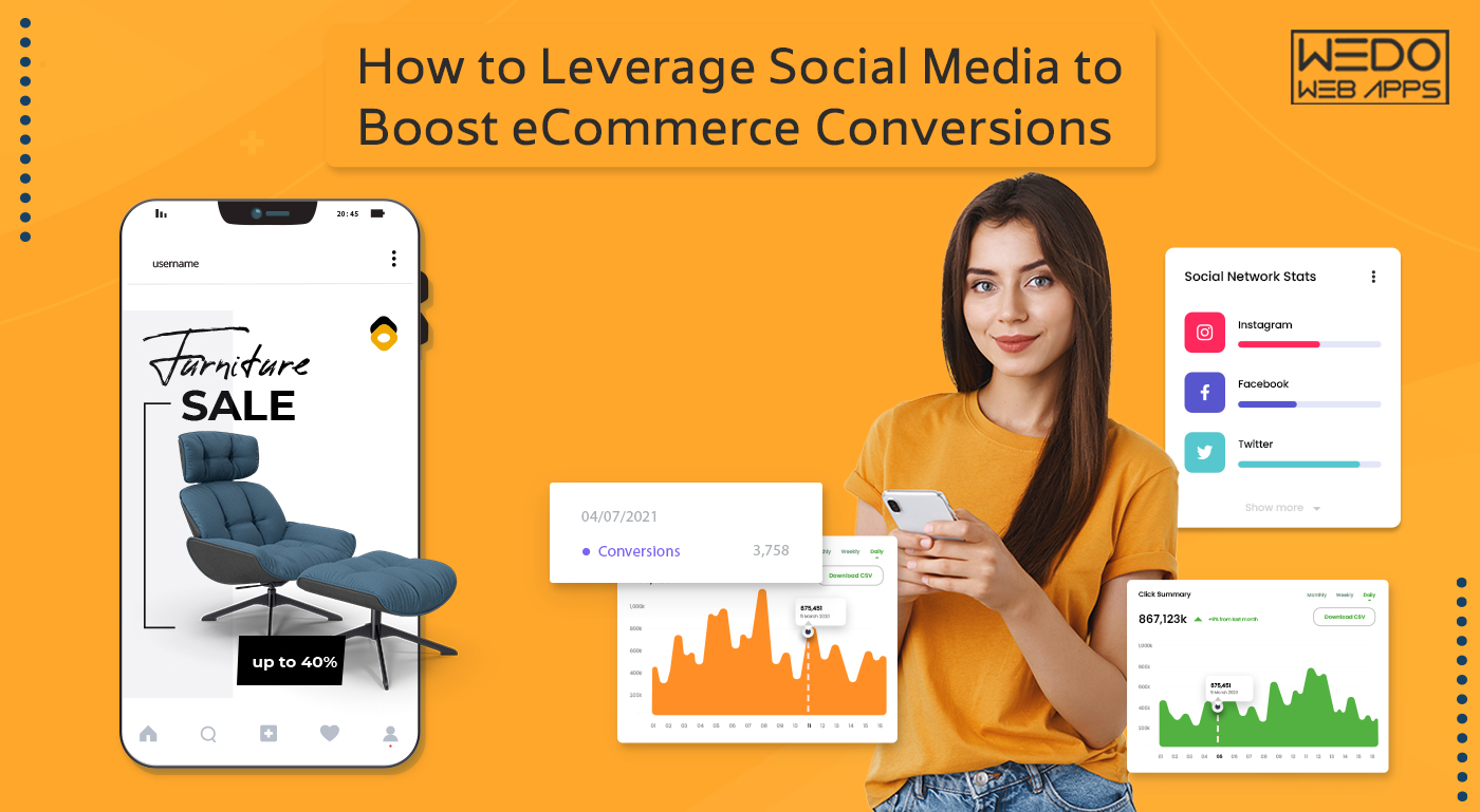 How to Leverage Social Media to Boost eCommerce Conversions