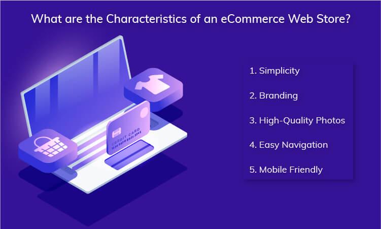 Characteristics of an eCommerce Web Store
